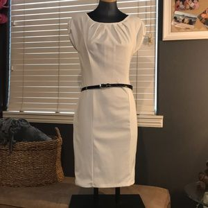 Dresses & Skirts - White fitted dress